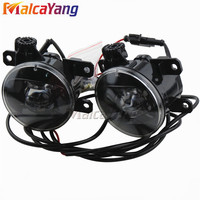 1 Pair Car Accessories Replace LED Fog Light Daytime Running Light DRL For Mitsubishi Outlander 2012 2016 Devil Eye