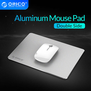 ORICO Mouse Pad Hard Smooth Thin Computer desk Mousepad Double Side Waterproof Non-slip Hard for Home Office Desk Mat desk feet cover noise avoiding non slip mat furnishing non slip mat thicken protecting pad self adhesive for home office