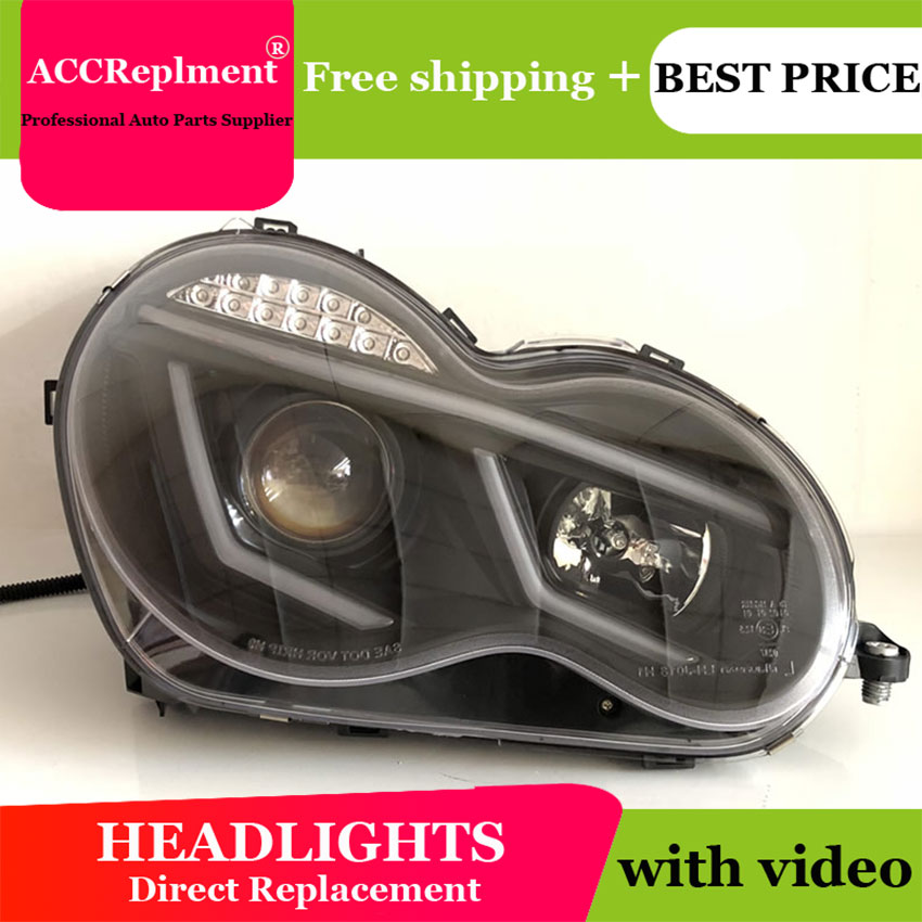 Worldwide delivery w203 headlights in Adapter Of NaBaRa