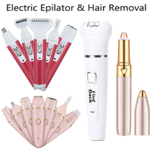 7 in 1 Women Shaver Painless Hair Removal Epilator Shaving M