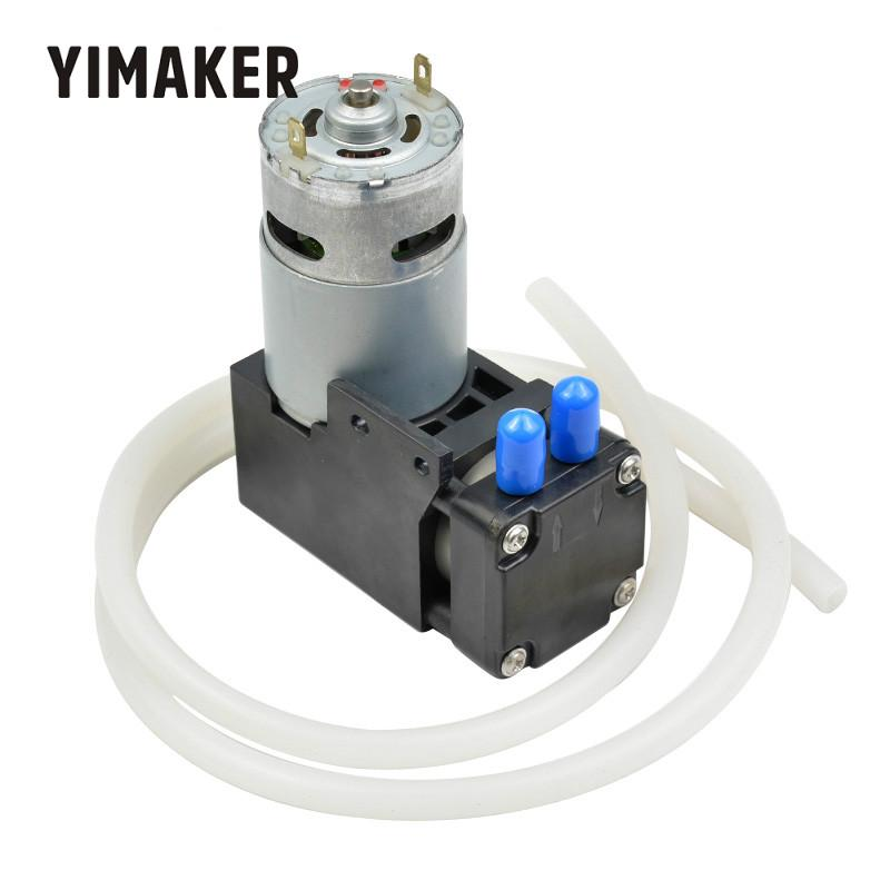 YIMAKER DC12V pompa próżniowa/ujemne ciśnienie pompa ssąca/pompa tłokowa 42L/min 85kpa w Pompy od Majsterkowanie na AliExpress - 11.11_Double 11Singles' Day 1