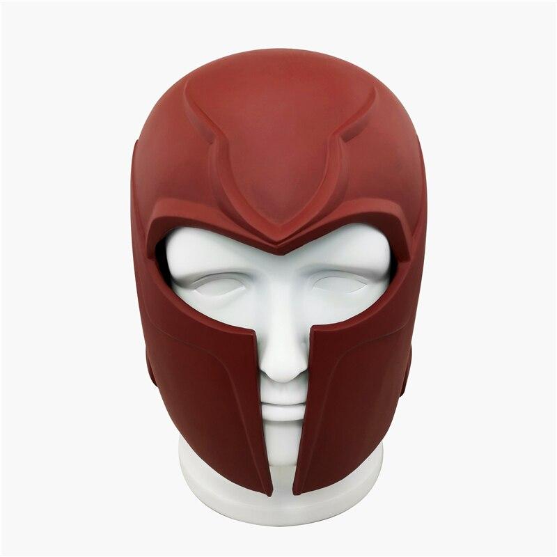 New Anime X-Men Superhero Magneto Cosplay Masks Max Eisenhardt Mask PVC Helmet Party Masquerade Carnival Halloween Props