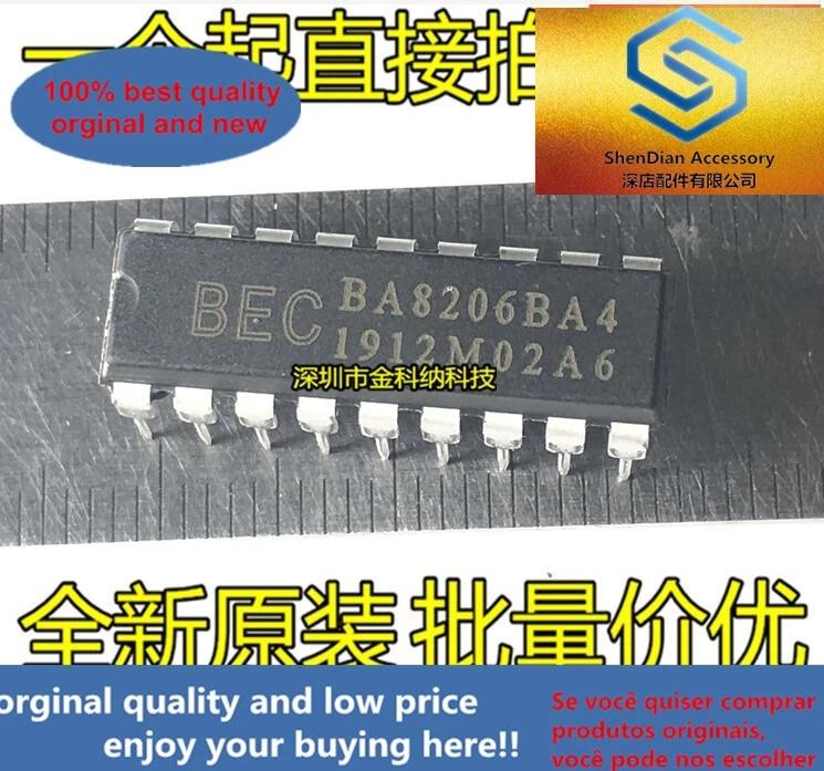 10pcs BA8206BA4 DIP-18 IC