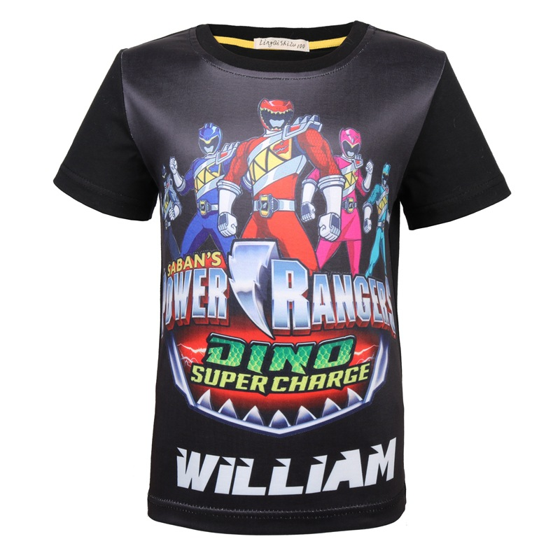 2018 New Style Children Base Shirt BOY'S Superman Elastic Short Sleeve T-shirt Children Clothes Clothing 8352