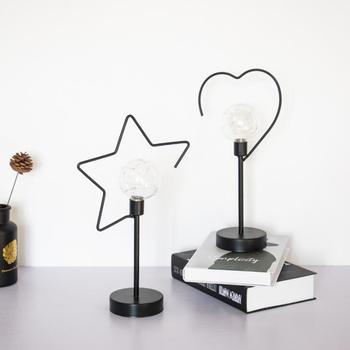 modern simple bedside star light loving night light bar home decorations
