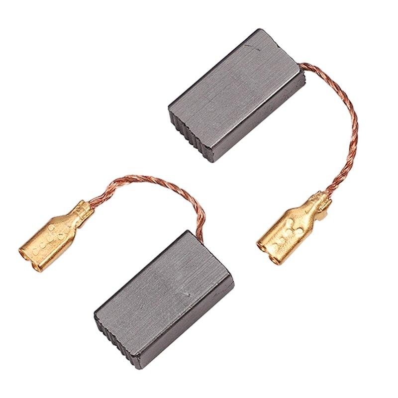 2 Pcs 5mm X 8mm X 15mm Power Tool Electric Hammer Coal Brush