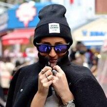 Зимняя женская шапка с логотипом бэнни однотонные шерстяные