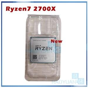 Image 1 - חדש AMD Ryzen 7 2700X R7 2700X 3.7 GHz שמונה ליבות Sinteen חוט 16M 105W מעבד מעבד YD270XBGM88AF שקע AM4