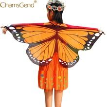 Chamsgend Recém Design Asas de Borboleta Pashmina Xale Crianças Meninos Meninas Traje Acessório halloween costume for kids 0509