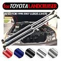 Углеродное волокно  авто капот  газовые стойки  амортизирующие стойки для Toyota Landcruiser 100 для Lexus Land cruiser 1998-2007