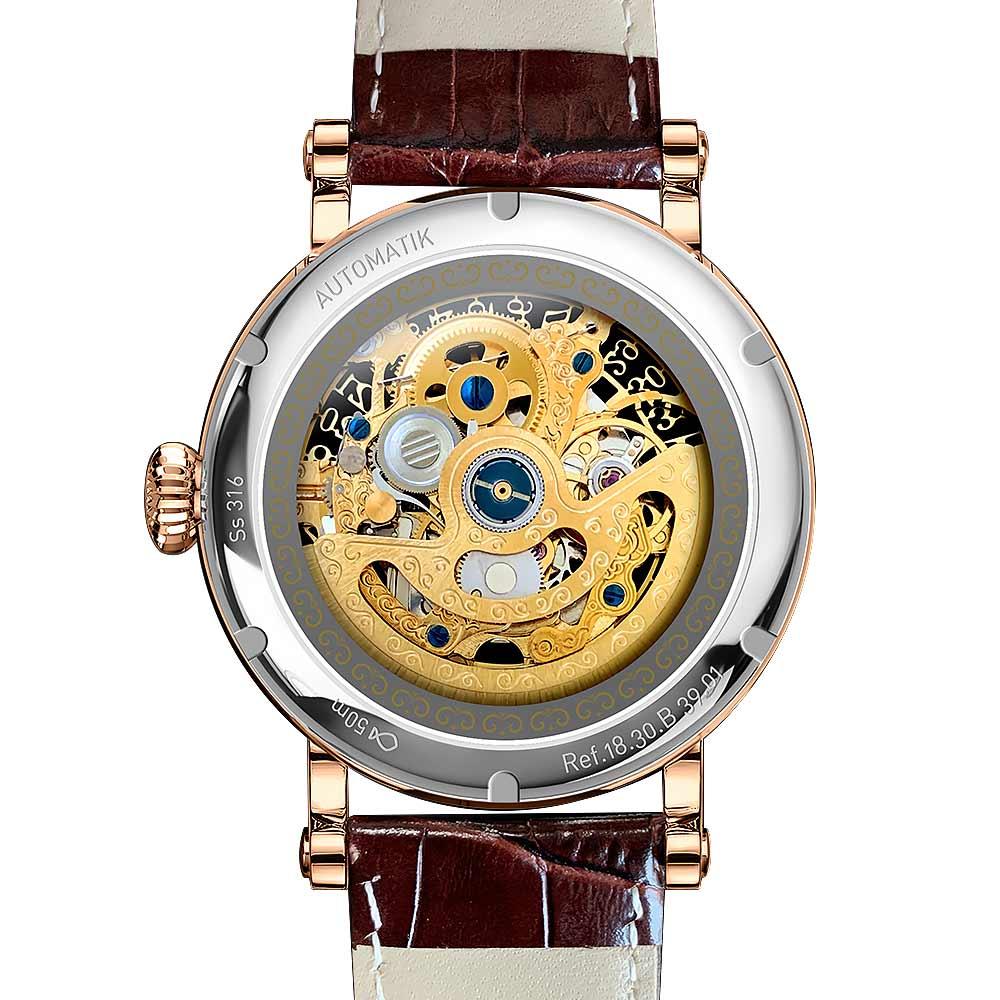 Switzerland luxury brand men wristwatch clock vintage men mechanical watch fashion original design relogios masculino waterproof