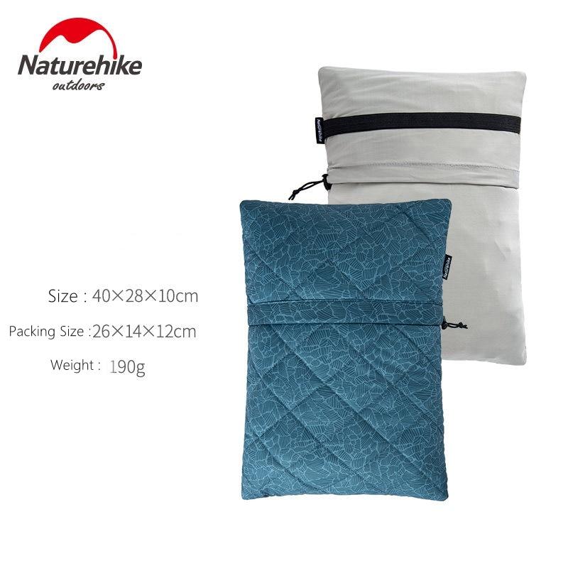 Naturehike дорожный напольный Ультра свет Губка Портативный Ланч диван Автомобильная подушка для шеи - Цвет: Navy