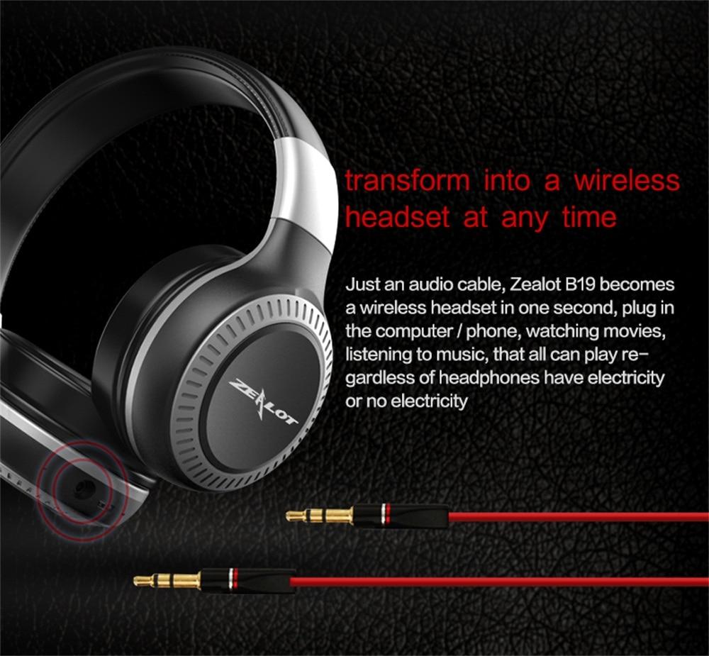 Bluetooth-наушники с микрофоном, поддержка TF-карты, FM-радио