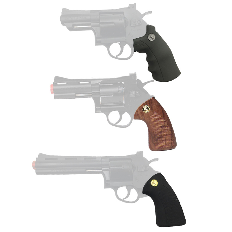 Gel Blastet Xiao Yue Liang  Revolver Toy Gun Revolver Metal Handle Water Gun