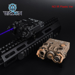 WADSN Tactical Mini DBAL-A2 Blue Laser White Light & Strobe Nylon Ver Hunting Rifle DBAL A2 No IR Function with QD Mount