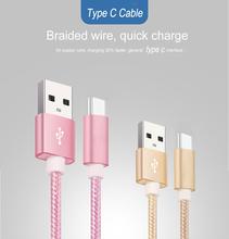 USB C typ C przewód do szybkiego ładowania do Samsung Galaxy A80 A70 2019 S9 S10 A9S Oneplus 7 Nylon szybkie ładowanie długi przewód przewód tanie tanio YMZOMS Typu C 2 4A Micro Usb 20cm 100cm 200cm USB Charging Cable For lenovo zuk z1 LG G5 Nexus Lumia 950 Lumia 950XL For All Type-C Connector Devices