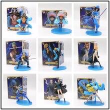 Цельный рисунок 20-й годовщины аниме Вер. Луффи Зоро нами Усопп Санджи чоппер Робин Фрэнки Брук фигурку ПВХ модель игрушки