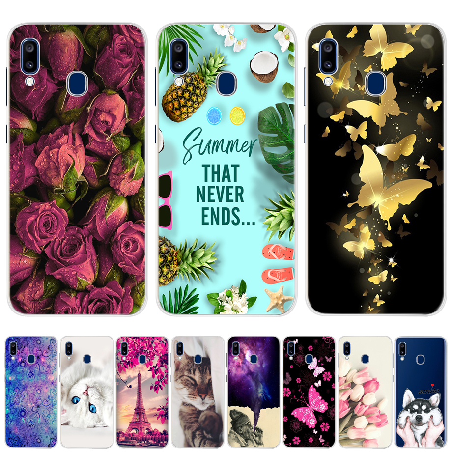 For <font><b>Samsung</b></font> A20E Case A20E Cover Soft TPU Bumper Coque For <font><b>Samsung</b></font> <font><b>Galaxy</b></font> A20E A 20E <font><b>A20</b></font> E 2019 Cases Silicone Phone Back Cover image