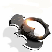 Luxury Batman Aluminum Metal Universal Finger Ring Smartphone Mobile Cell Phone Hand Desk Stand For iPhone 6 Xiaomi Mi8 Holder