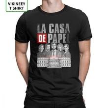 Bella Ciao t-shirt homme, Unique, ras du cou, en coton, taille européenne, La Casa De Papel, Money Heist