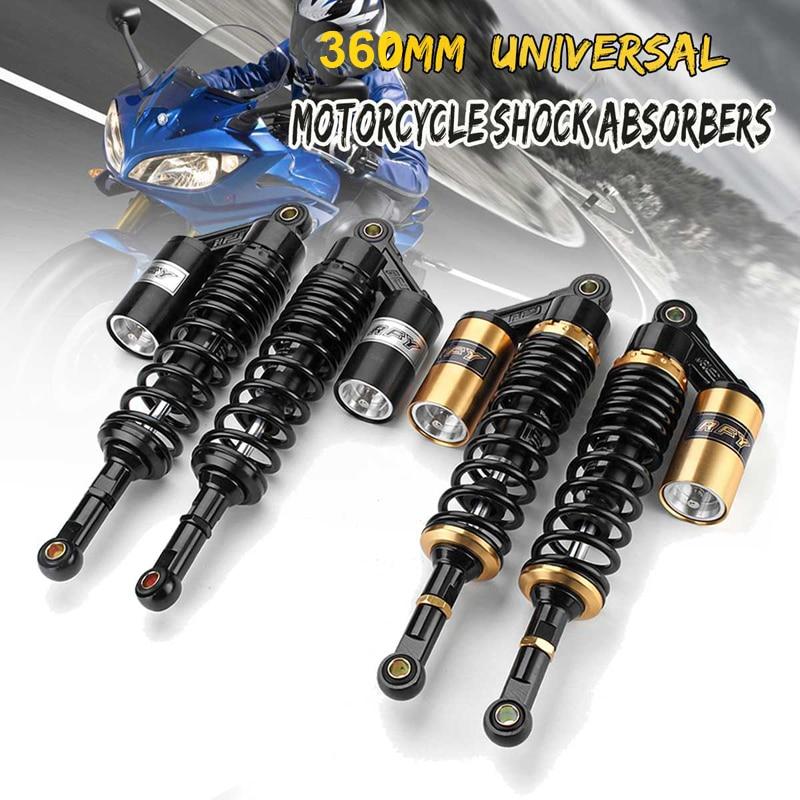 prasku 2x 230mm Rear Back Shock Absorber Shocker Suspension For QUAD DIRT BIKE ATV