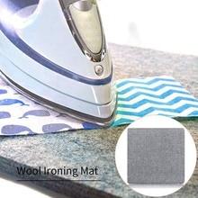 Wolle Pressen Matte Bügeln Pad Hohe Temperatur Bügelbrett Filz Bügelbrett Fühlte Hause Drücken Matte Zubehör