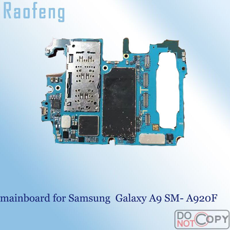 for Samsung Galaxy A9 A920f/Unlocked/Original Mainboard with Full-Chips