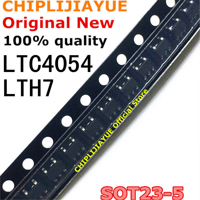 20PCS LTC4054 LTH7 SOT23 LTC4054ES5 4054 LTC4054ES5-4.2 SOT-23-5 SOT SMD New And Original IC Chipset