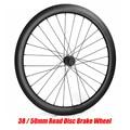 Straße Disc Brake Laufradsatz 700C 38mm 50mm Tubular Tubeless NOVATEC 411/412 Cyclocross Bike Carbon Rad Carbon Felge Fahrrad rad-in Fahrrad-Rad aus Sport und Unterhaltung bei