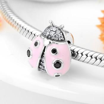 Ladybug 925 Sterling Silver Charm