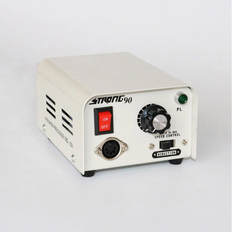 Dental Lab Equipment STRONG90 Implant Dental Micromotor 102L Handpiece 35K RPM For Nail Polishing Made In China