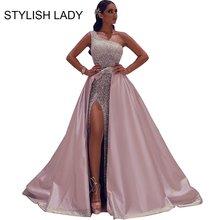 Женское длинное платье с блестками элегантное Клубное макси