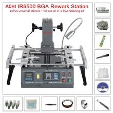 ACHI IR6500 v2 a raggi infrarossi BGA Macchina Rilavorazione BGA SMD SMT dissaldatura Stazione di Rilavorazione + 20 In 1 BGA sfere di Saldatura flux Reballing Kit