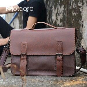 Mens Bag Big Capacity Leather