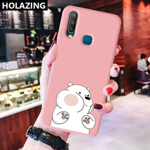Soft Ultra Thin Matte Case For Vivo Y19 Y17 Y15 2020 Y12 Y95 Y91 U3X U3 Phone