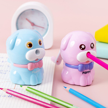 Automatic pencil sharpener cute for children to learn stationery pencil sharpener mechanical Kawaii Plastic Kids Toys School недорого