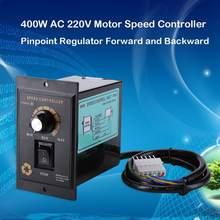 400W AC 220V Motor hızı Pinpoint regülatörü denetleyici Vooruit en Achteruit 50/60 hz düzenlenmiş hız Motor kontrolörü