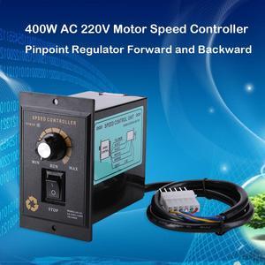 400W AC 220V Motor Speed Pinpoint Regulator Controller Vooruit en Achteruit 50/60 hz Regulated Speed Motor Controller