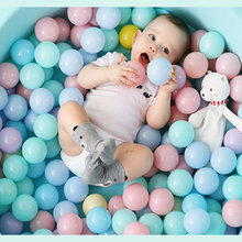 50/100 pcs Plastic Ocean Ball Eco-Friendly Colorful Ball Funny Baby Kid Swim Pit Toy Water Pool Ocean Wave Ball Dia toy