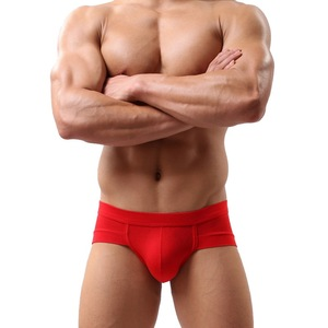 Laamei Men's Sexy Breathable Brief Men Comfortable Briefs Underwear Cotton Underpants Shorts Cueca Man Underpants Male Panties(China)