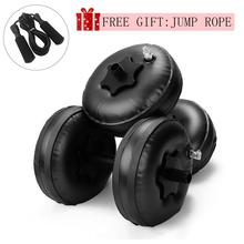 Adjustable Dumbbell Set Water-filled Dumbbell Heavey Weights Workout Exercise Fitness