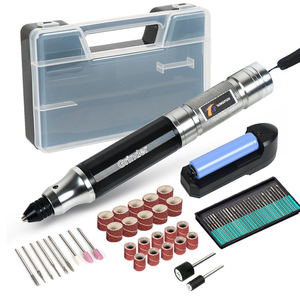 Image 1 - Tungfull Mini Cordless Drill Engraving Pen Electric Drill Grinder With Lithium Battery 3.7V Rechargeable Jade Carving Tool