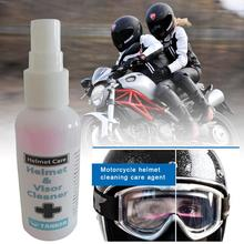 Motorbike Helmet Visor Cleaner Cleaning Care Agent For Riding Cloth Shoes Gloves Drop Shipping