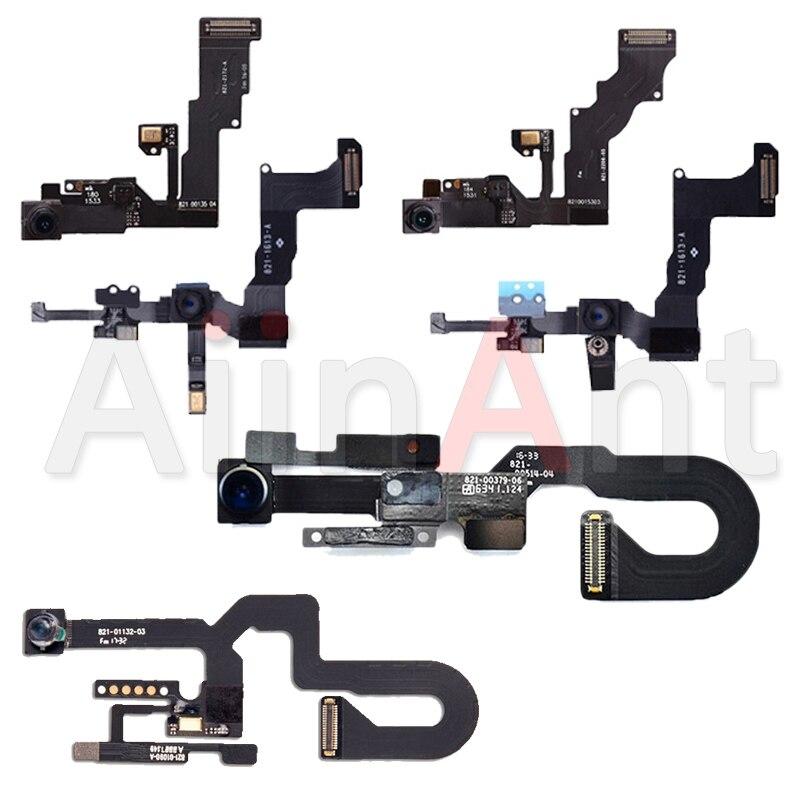 Original Front Camera For IPhone 6s 6 7 8 Plus 5 5s 5C SE Sensor Proximity Small Front Camera Flex Cable Replacement