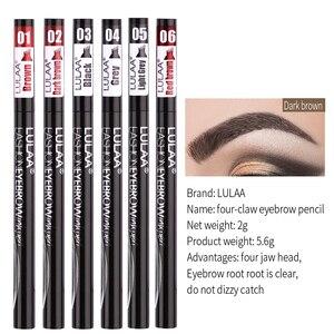 Image 4 - 6 Tint Dye กันน้ำดินสอเขียนคิ้ว eyebrow SHADOW สำหรับคิ้วแต่งหน้ากันน้ำ Long Lasting Sketch Liquid eyebrow WAX