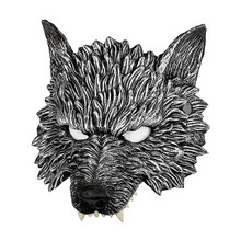 Halloween 3D Wolf Mask Party Masks Cosplay Horror Masque Decoration Accessories