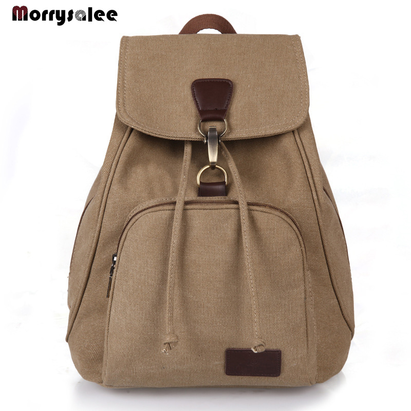 Men Canvas Backpack  Men bag Fashion Backpacks School Backpack Travel Backpack