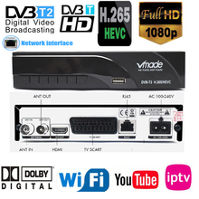 2019 New H265 DVB-T2 Digital Broadcasting Tv Box Dvb T2 Terr