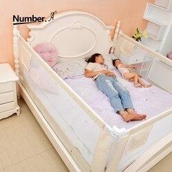 Детский манеж, безопасная детская площадка на кровать, барьер, ограждение для ограждения кровати, складная детская домашняя защита, шпаргал...