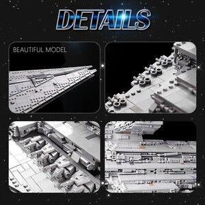 Mould König MOC Bausteine Die ISD Monarch Destroyer modell sets Montieren Ziegel Kinder Pädagogisches DIY Spielzeug Weihnachten Geschenke